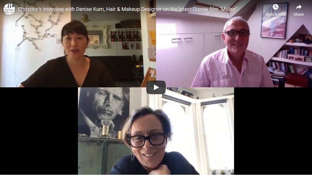 """Christine talks to """"Mulan"""" Designer Denise Kum"""